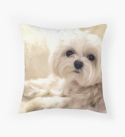 Hoping For A Cookie Throw Pillow