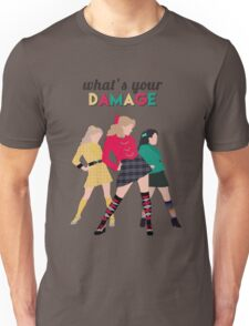 What's Your Damage? - Heathers the Musical Unisex T-Shirt