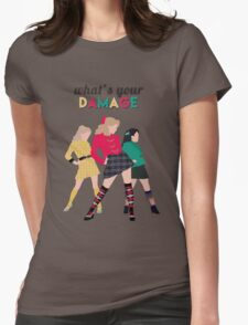 What's Your Damage? - Heathers the Musical Womens Fitted T-Shirt