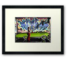 Melbourne Graffiti  & Kanaa Muscle Car3 Vigilante Framed Print