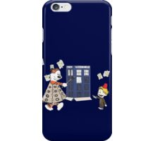Doctor and Daleks iPhone Case/Skin