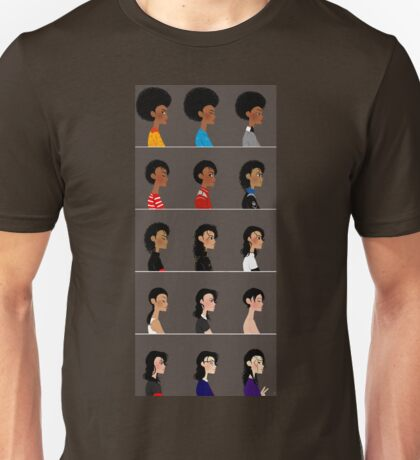 Michael busts. Unisex T-Shirt