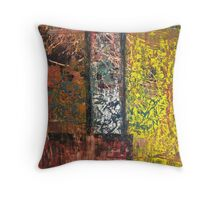 wintry day Throw Pillow