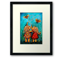 Forever Friends Blue Skies Framed Print