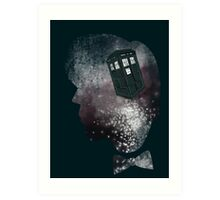 Doctor Who Eleventh Doctor Grunge Art Print