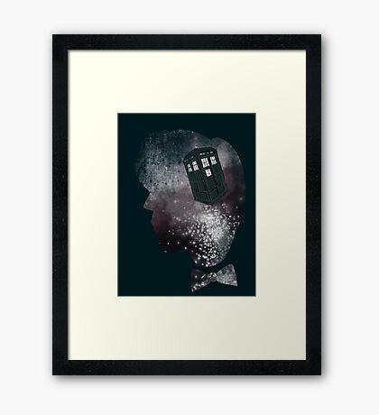 Doctor Who Eleventh Doctor Grunge Framed Print