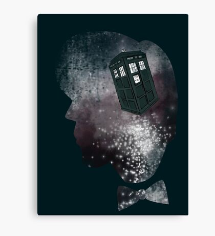 Doctor Who Eleventh Doctor Grunge Canvas Print