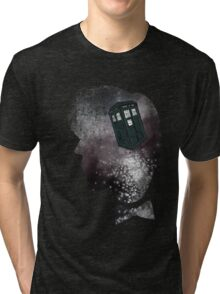 Doctor Who Eleventh Doctor Grunge Tri-blend T-Shirt