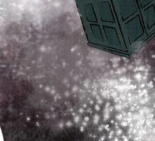 Doctor Who Eleventh Doctor Grunge Sticker
