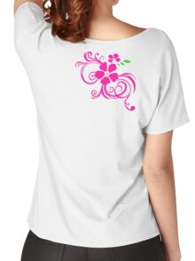 Pink  Women's Relaxed Fit T-Shirt