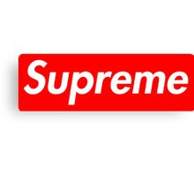 Pink Supreme Small Box Media Cases, Pillows, and More. Canvas Print