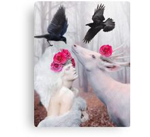 ~ The White Deer ~ Canvas Print