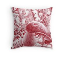 Biggie's Laboratory Throw Pillow