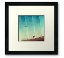 The Pillars Framed Print