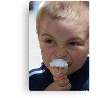 Sweet icecream Canvas Print