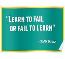 Learn to Fail or Fail to Learn Poster