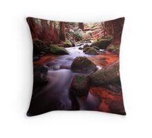 """Little Forester River-2"" Throw Pillow"