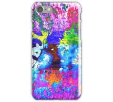 Colorful Abstract Digital Image iPhone Case/Skin