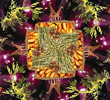 Mandala 9 by Bill Brouard