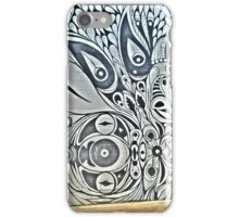 Black and White Mural iPhone Case/Skin
