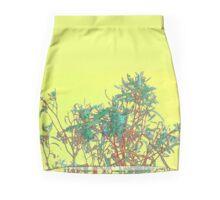 Dumbleyung Gum Tree Yellow  Mini Skirt