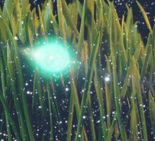 Grass & Starry Night Sky Sticker