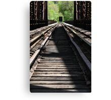 Rail Me Away Canvas Print
