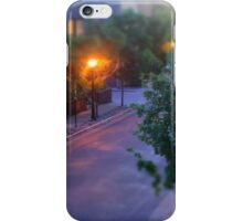 Sunset from the balcony iPhone Case/Skin