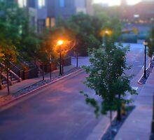 Sunset from the balcony by Jackson Killion