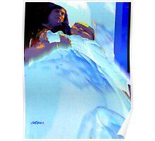 Blue Blanket Poster