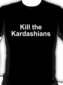 Kill the Kardashians - Slayer Gary Holt T-Shirt
