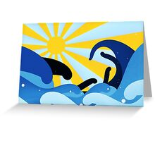 Tidal Summer Greeting Card