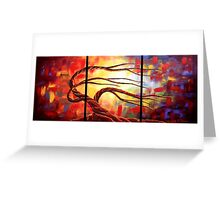 The Worshipping Tree Greeting Card