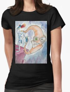 """Earthworm Jim """"Whip It"""" Womens Fitted T-Shirt"""
