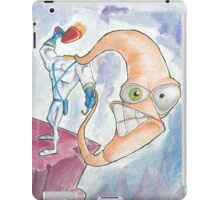 "Earthworm Jim ""Whip It"" iPad Case/Skin"