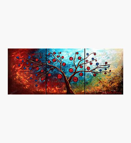 The Red & Blue Fruit Photographic Print