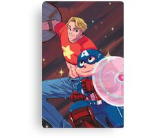 Steve and the Steven Canvas Print