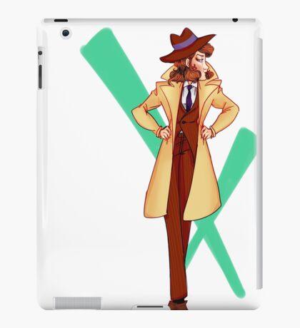 Fujiko in Zenigata's Clothes iPad Case/Skin