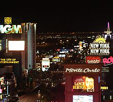 Las Vegas...The Strip... by EvaMarie Cannon
