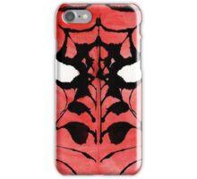 Rorschach Spiderman iPhone Case/Skin