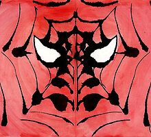 Rorschach Spiderman by solarflarepro