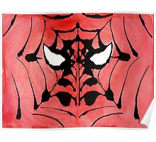 Rorschach Spiderman Poster