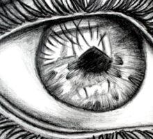 Not-So-Evil Eye Sticker