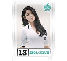 AOA-SEOLHYUN-HEART ATTACK Poster