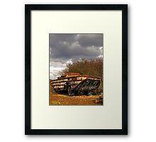 WWII Amphibian Framed Print