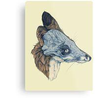 Laminate Pet Animal, Snowmine Metal Print