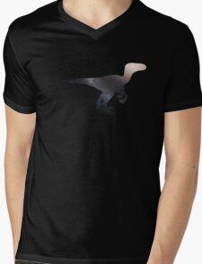 Velociraptor Mens V-Neck T-Shirt