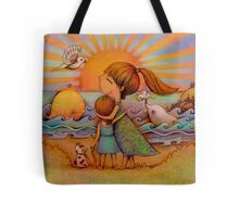 whale watching Tote Bag