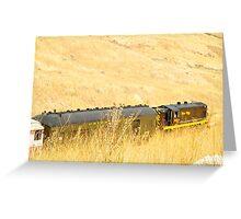 Magic Train Ride  Greeting Card