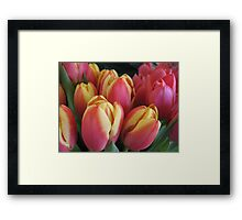 Welcome to the Flower Rock Cafe Framed Print